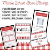 Middle School Book Tasting Kit