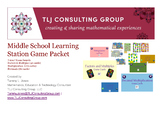Middle School Center/Learning Station Games