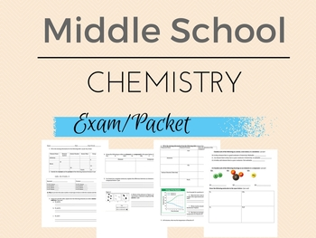 Middle School Chemistry Packet