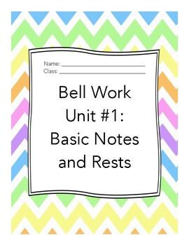 Middle School Choir Bell Work Unit 1