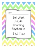 Middle School Choir Bell Work Unit 4