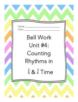 Middle School Choir Bell Work Unit 4