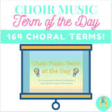 Middle School Choir Music Term of the Day
