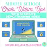 Middle School Choir Warm Ups