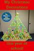 Middle School Christmas Tree Math Activity