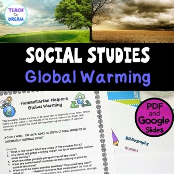 Middle School Civics and Citizenship: Global Warming, Research Project, IB
