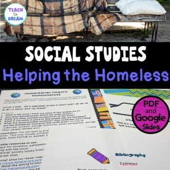 Middle School Civics and Citizenship: Helping the Homeless, Research Project, IB