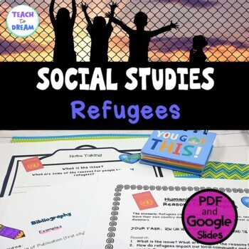 Middle School Civics and Citizenship: Refugees, Research Project, IB