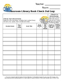 Middle School ELA Classroom Library Book Check Out Log