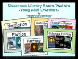 Middle School Classroom Library Genre Posters
