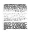 Middle School Commencement Speech