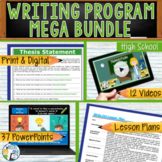 WRITING PROGRAM!!!! - MEGA BUNDLE!! 35 LESSONS!! - Middle School
