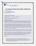 Middle School Computer Class Course Syllabus