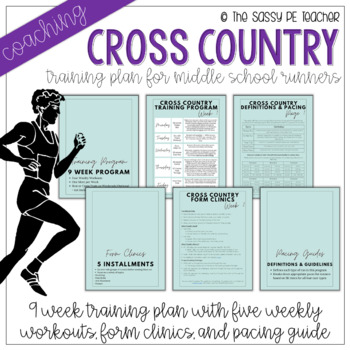 Middle School Cross Country 9-Week Coaching Plan