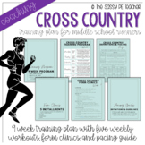 Middle School Cross Country 9-Week Coaching Plan