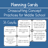 Middle School Crosscutting Concept Planning Cards (NGSS)