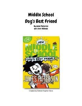 Middle School Dog's Best Friend Book Study