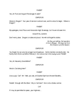Middle School Drama Script: The 13th Zodiac Animal
