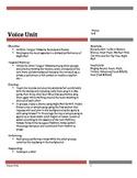 Middle School Drama Voice Unit