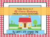 Middle School ELA At-Home Learning