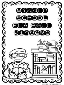 Middle School ELA Bell Ringers #1