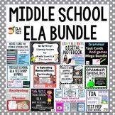 Middle School ELA Bundle