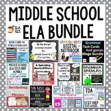 Middle School ELA Bundle