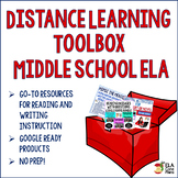 Middle School ELA Distance Learning Toolbox