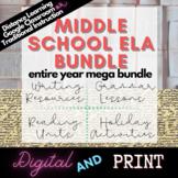 6th, 7th, 8th ELA English Resources Growing Bundle - Readi