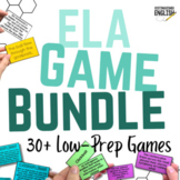 Middle School ELA Game Bundle (20% Discount)