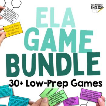 Middle School ELA Game Bundle (20% Discount)