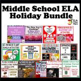 Middle School ELA Holiday Bundle