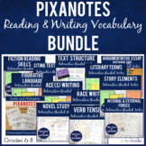 Middle School ELA Pixanotes® MEGA {GROWING} BUNDLE!