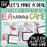 Middle School ELA Review Game ELA Test Prep 7th 8th Grade ELA Review Game