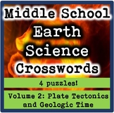 Middle School Earth Science Crosswords Volume 2-Plate Tect