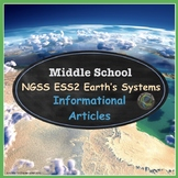 Middle School Earth Science Nonfiction Texts