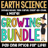 Middle School Earth Science Growing Bundle