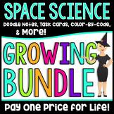Middle School Space Science Growing Bundle