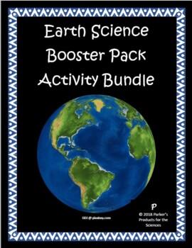 Middle School Earth Science Mega Survival Activity Bundle (56 Activities!)