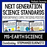 Middle School Earth Science NGSS Posters