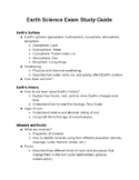 Middle School Earth Science Study Guide