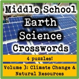 Middle School Earth Science Volume 3-Climate Change and Natural Resources