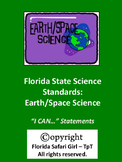 Middle School Earth/Space Florida Science Standards - I CA