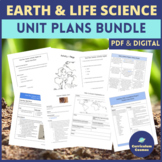 Middle School Earth and Life Science Unit Plans MEGA BUNDLE