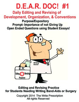 DEAR DOC-Daily Editing and Revising of Development Organization & Conventions #1