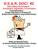 DEAR DOC-Daily Editing and Revising of Development Organization & Conventions #2