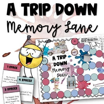 End of Year Activity: A Trip Down Memory Lane Game!