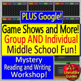 First Day of School Activities and Games - Google Version