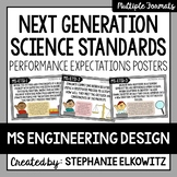 Middle School Engineering Design NGSS Posters