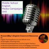 Middle School English: Media Campaigns Unit